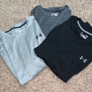 Under armour men's t shirt bundle